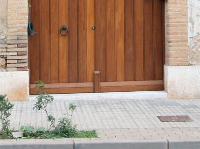 Porta d'entrada a Vilafant